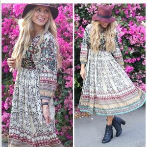 232e32174c588 Anthropologie Dresses - NWOT Anthropologie Bhanuni Far Fields Maxi Dress